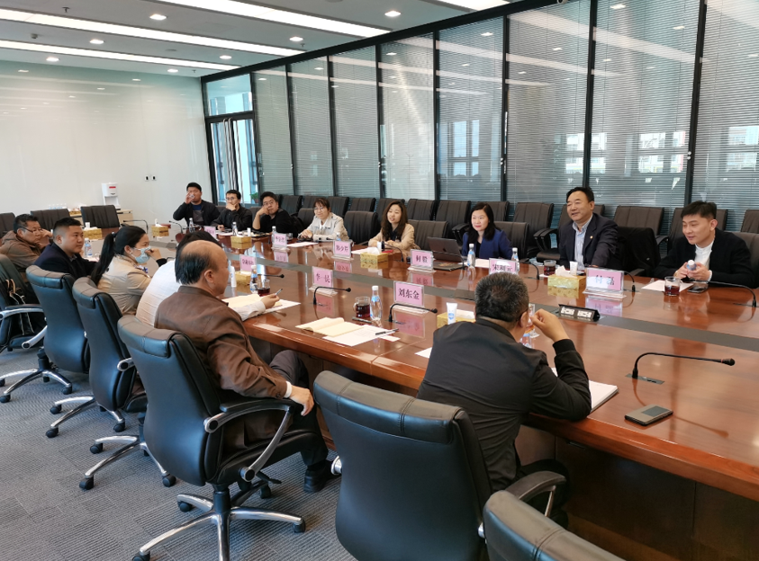 西藏自治区科技厅副厅长刘东金一行来访调研